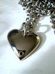 Quimper bijouterie. Coeur de titane massif (grade 5) pour un amour éternel. dans PENDENTIF TITANE pendentif-titane-4-112x150