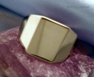 Chevalière en acier 316l. La bague inoxydable. dans BAGUE ACIER bague-7-300x248